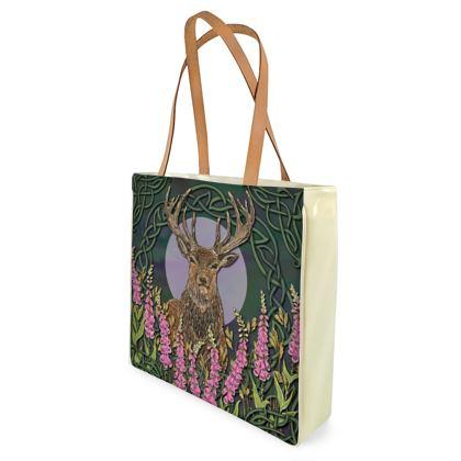 Celtic Stag Shopper Bag