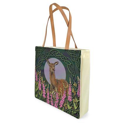 Celtic Doe Shopper Bag