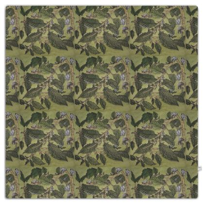 'Beech Leaf' Throw in Green