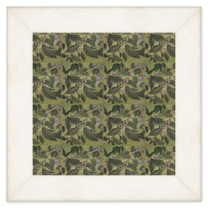 'Beech Leaf' Double Quilt in Green