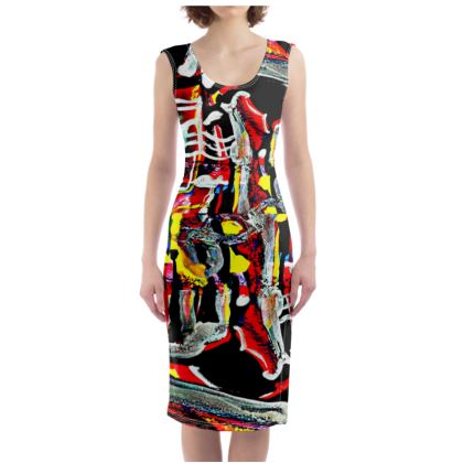 Funky Pop-Bodycon Dress I