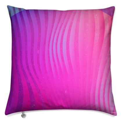 Cushion- Emmeline Anne Glamorous Stripes Pink