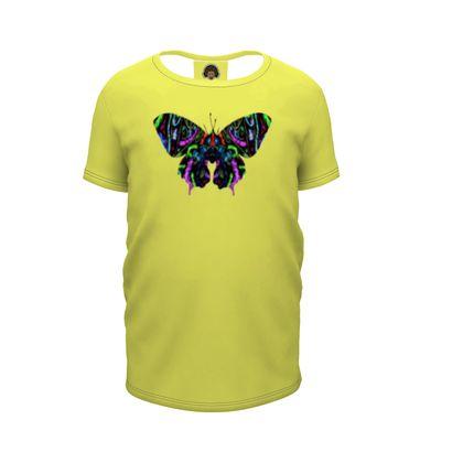 Girls Premium T-Shirt - Butterfly