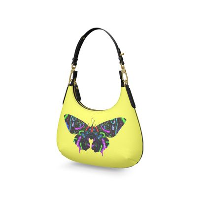 Mini Curve Bag - Butterfly