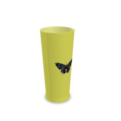 Half Pint Glass - Butterfly