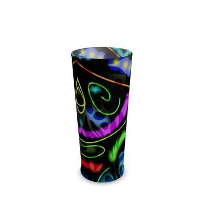 Half Pint Glass - Neon