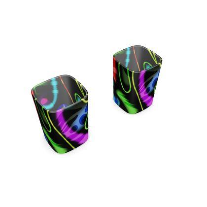 Square Shot Glass 2 Set - Neon