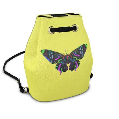 Bucket Backpack - Butterfly
