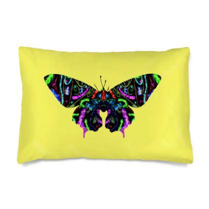 Silk Pillow Case - Butterfly