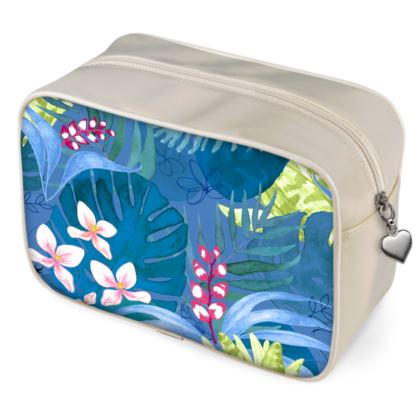 Tropical Fauna wash bags