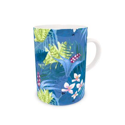 Tropical Fauna bone china mug
