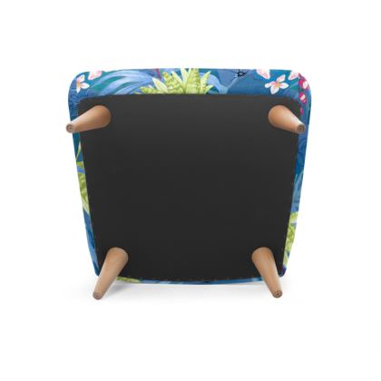 tropical fauna occasional chair