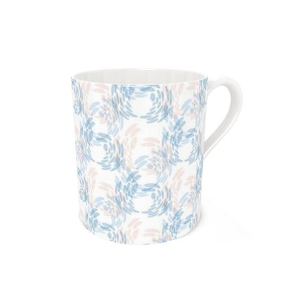 Abstract Tranquil Calm Butterflies Coffee Mug