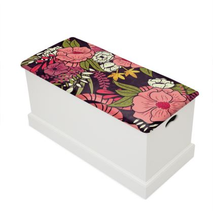 Blanket Box - Floral Jungle