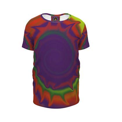 Girls Premium T-Shirt - Colourful Spiked Ball