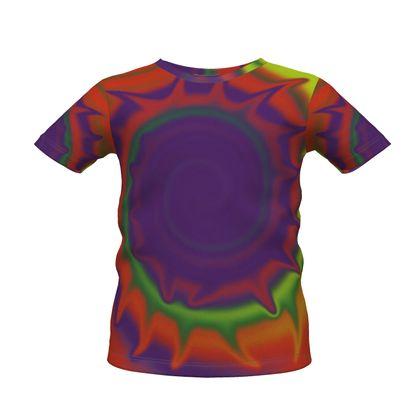 Boys Premium T-Shirt - Colourful Spiked Ball