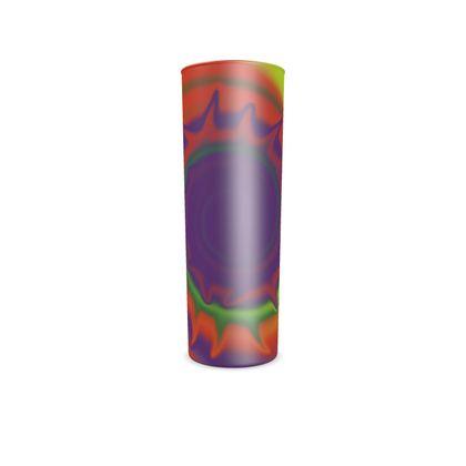 Hi Ball Glass - Colourful Spiked Ball