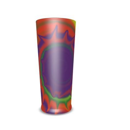 Pint Glass - Colourful Spiked Ball