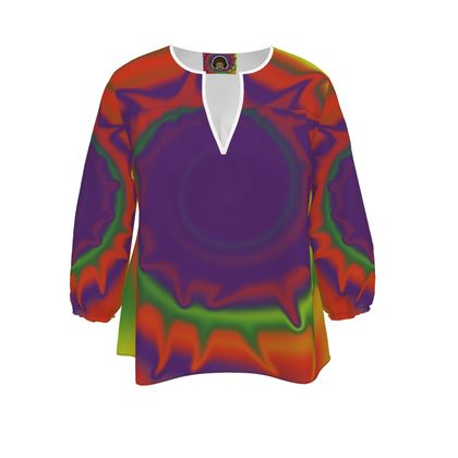 Blouse - Colourful Spiked Ball