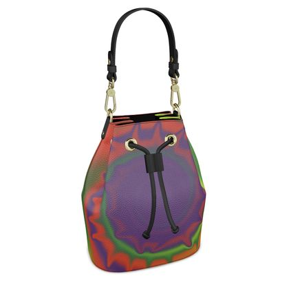 Bucket Bag - Colourful Spiked Ball