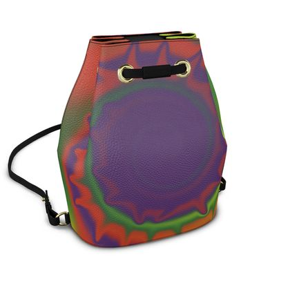 Bucket Backpack - Colourful Spiked Ball