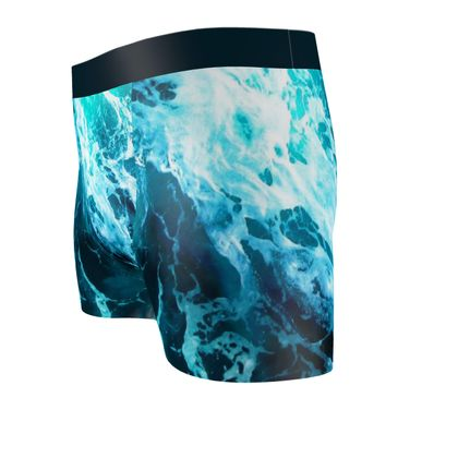 VITAMIN SEA Cut & Sew Boxer Briefs