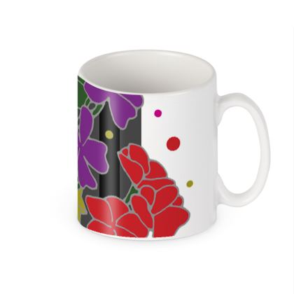 Geranium Ceramic Mug