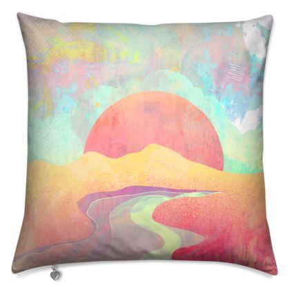 A fantasy land cushion