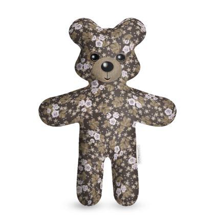 Cute Teddy Bear - vintage teddy bear, kid gift, children's gift, mascot, teddy bear for bedtime, kids toy, baby kind talisman - design by Tiana Lofd