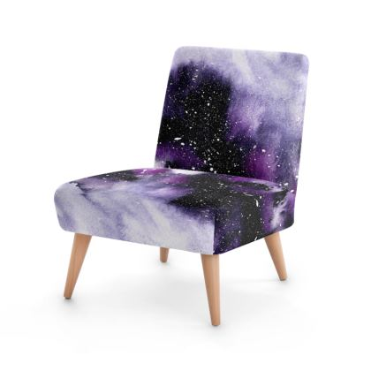 Oceanic Violet Occasional Chair