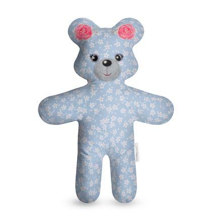 Lovely Teddy Bear - vintage teddy bear, kid gift, children's gift, mascot, teddy bear for bedtime, kids toy, baby kind talisman - design by Tiana Lofd