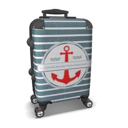 Suitcase Skilled Sailor Quote