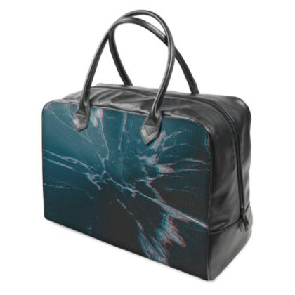 "Holdall ""Marbled Ice"""
