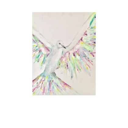 Dove in Colour- Canvas