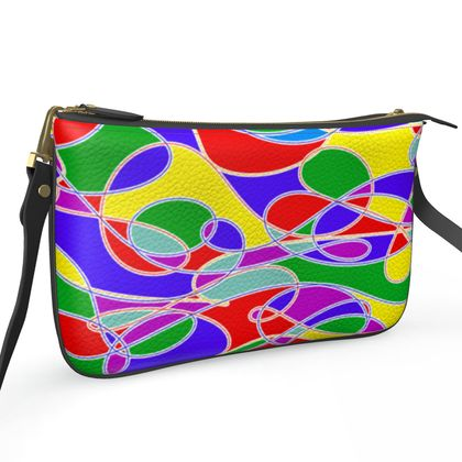 Pochette Double Zip Bag - Colours of Summer Collection