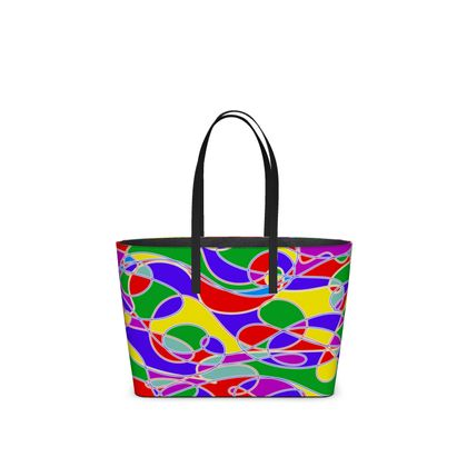 Kika Tote, Custom Leather in Our Colours of Summer Collection