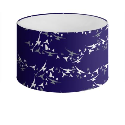 Birds Drum Lamp Shade