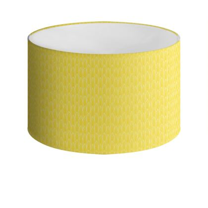 Daffodil Bud Drum Lamp Shade