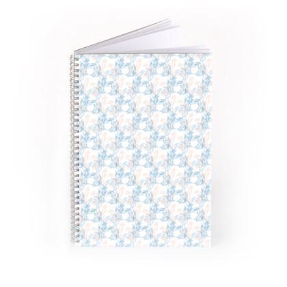 Abstract Tranquil Calm Butterflies Notebook