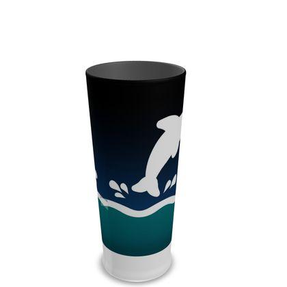 Pint Glass - Dolphin