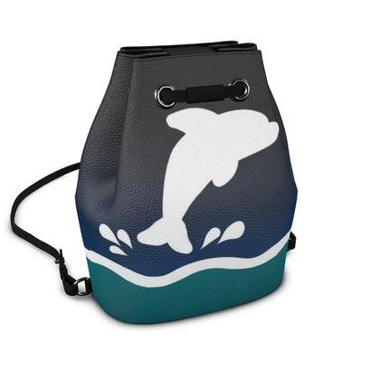 Bucket Backpack - Dolphin