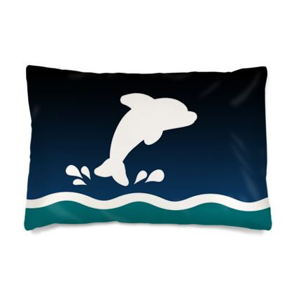 Silk Pillow Cases Sizes - Dolphin