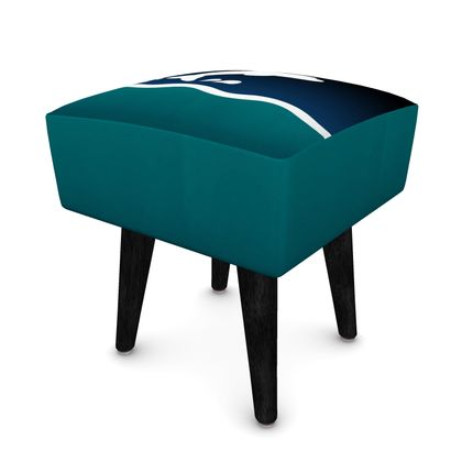 Square Footstool - Dolphin