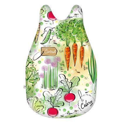 Garden harvest - Baby Sleeping Bag - Gardening, vegetables, carrots, green, countryside, vegetarianism, greenery, agricultural plants, gardening, gardener gift - design by Tiana Lofd