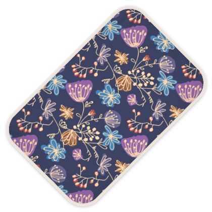 Night flowers - Baby Changing Mats -design by Tiana Lofd
