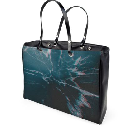 "Handbag ""Marbled Ice"""
