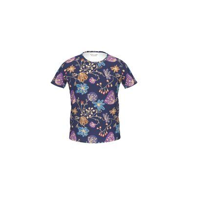 Night flowers - Girls Premium T-Shirt -design by Tiana Lofd