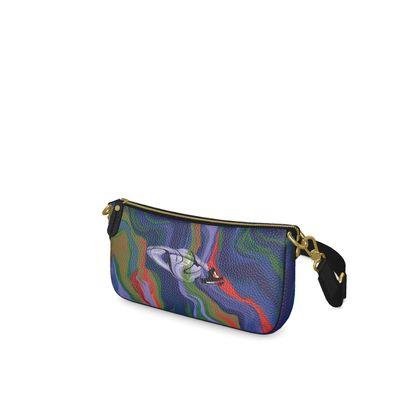 Baguette Bag - Colours of Saturn Marble Pattern 4
