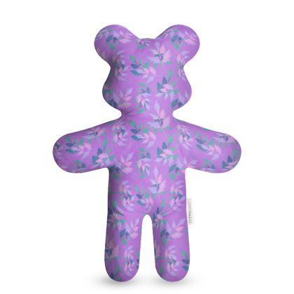 Teddy Bear, Mauve, Teal, Deciduous   Slipstream   Mauve Haze