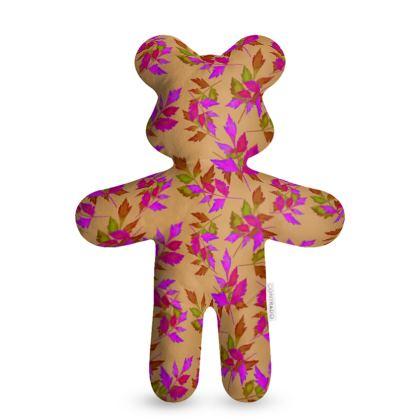Teddy Bear, butterscotch, mauve, Nature  Slipstream  Butterscotch